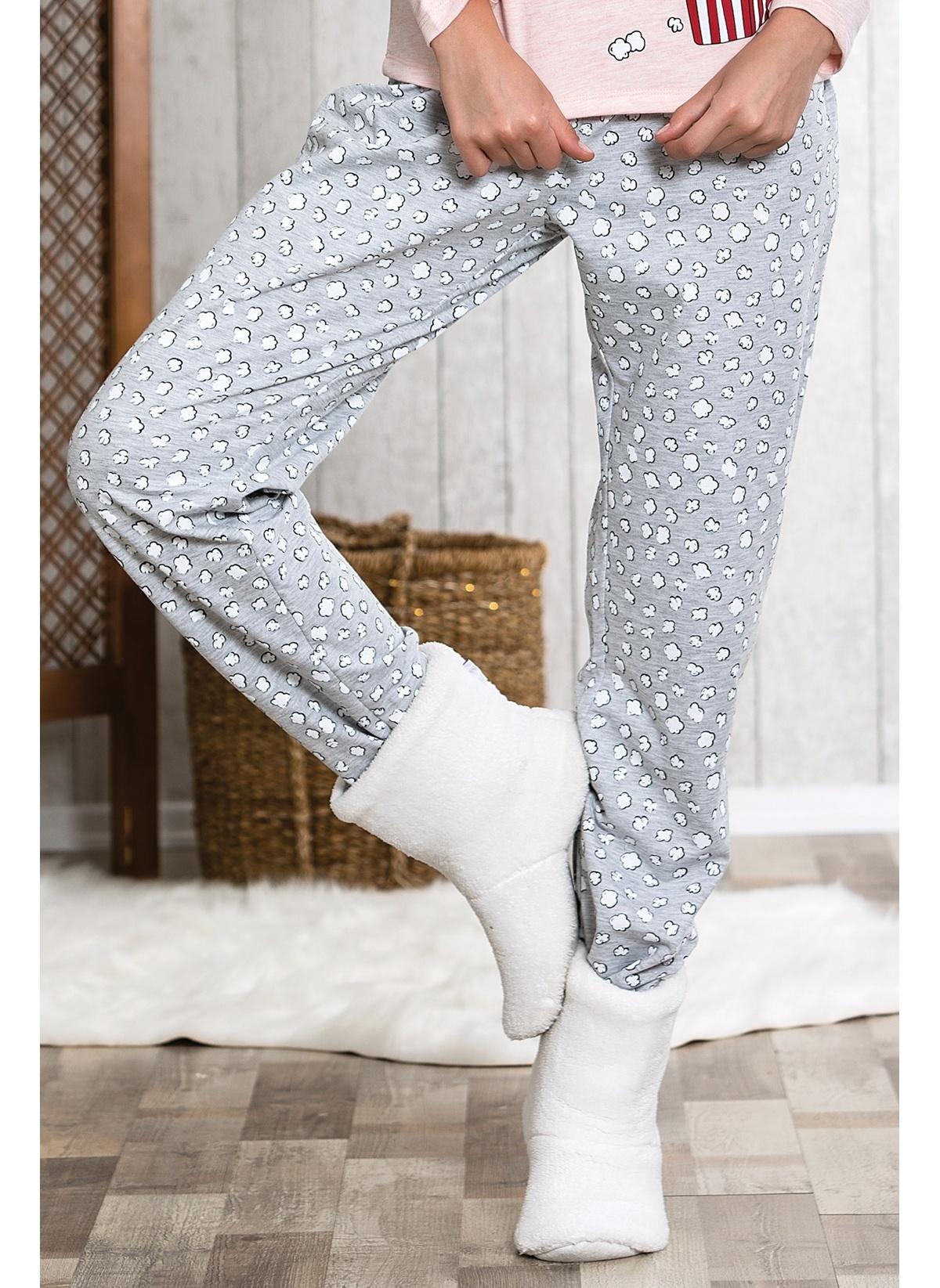 Lingabooms Pijama Altı Mlb4004 Kadın Patlamış Mısır Baskılı Alt – 29.9 TL